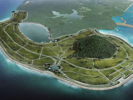 Filming Singapore's First Polder Project