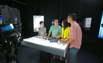 studio-based video production -St engine