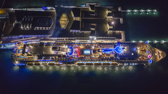 spectrum of the sea-skyshot drone shot a