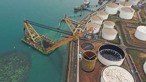 SE Asia's Biggest Tank Lift