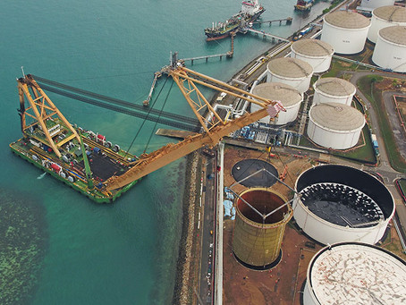 SE Asia's Biggest Tank Lift