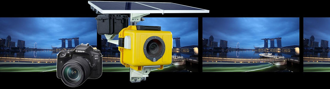 tbox titan3 DSLR timelapse camera by sky