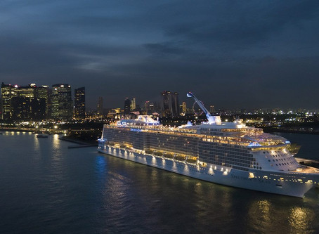 Spectrum of the Seas - First Voyage to Singapore