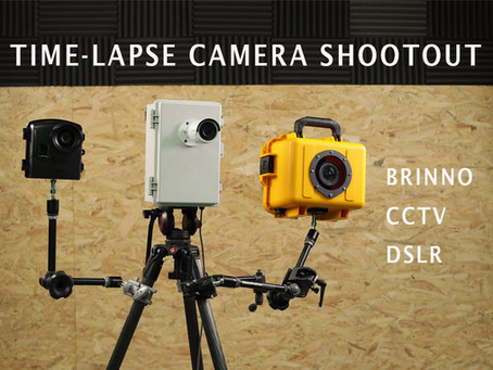 Time-lapse Camera Shootout - Brinno vs CCTV vs Titan 3