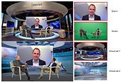 livestream greenscreen video productions