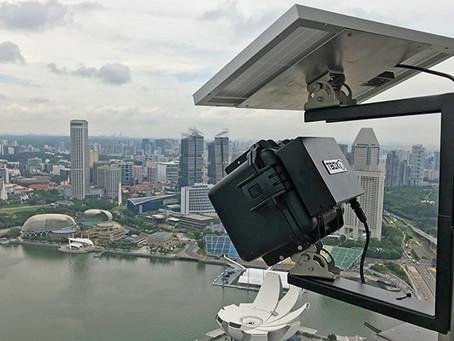 DSLR vs CCTV Time-lapse