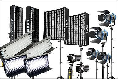 alta studio video lights rental package.