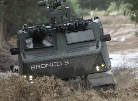 Bronco 3 – Filming in UK