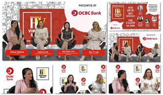 livestream greenscreen for OCBC -alta pr