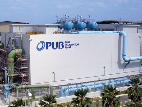 Tuas Desalination Plant Construction Video