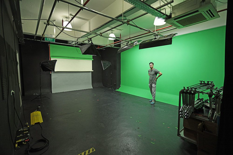 alta studio for photo & video rental sin