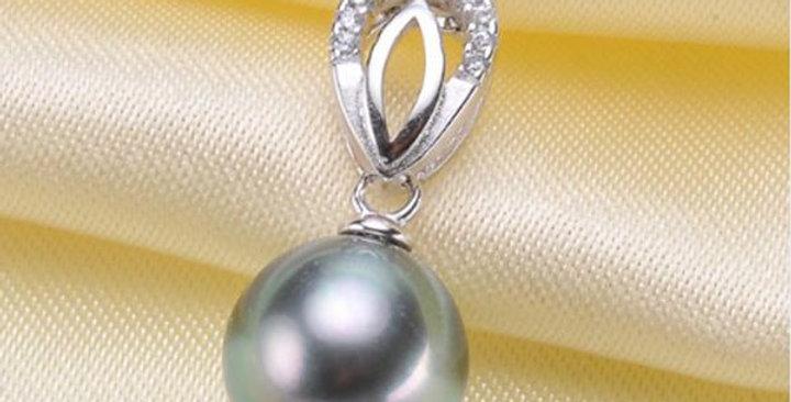 Tear Drop Sterling Silver pendant