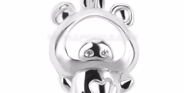 This Little Piggy Cage Pendant