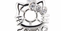 Consultant Hello Kitty Sterling Silver Pendant