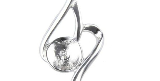 Hopeful Hearts Sterling Silver Pendant