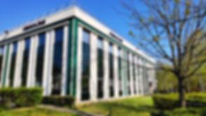 Centre d'innovation et de R&D Fibroline près de Lyon. Technologies d'imprégnation de poudres en voie sèche pour non-tissés, textiles, mousses et papiers.