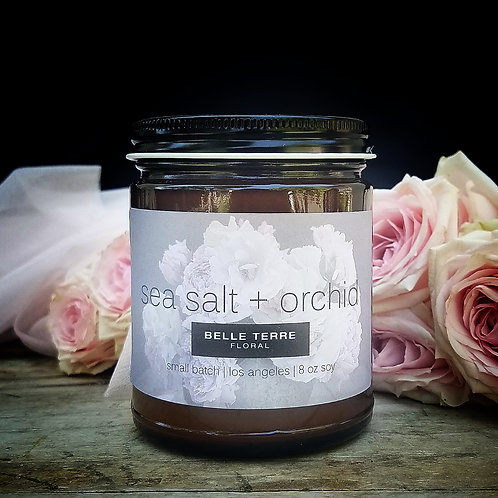 Sea Salt Candle | 8 oz