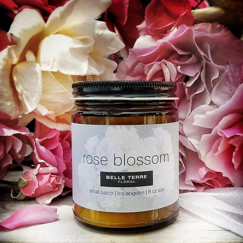 Rose Blossom Candle | 8 oz