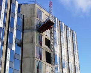 RAE LIFT location monte materiaux et ascenseurs de chantier grenoble (lift) monte-charges plateformes sur mât, ancrages, levage
