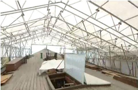 Parapluie rénovation barque