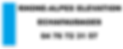 Logo RHONE-ALPES ELEVATION