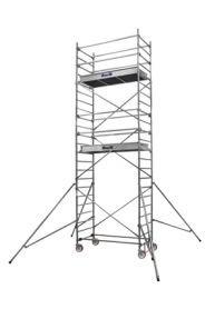 Échafaudage Duarib roulant Alu AL200 - 6.90 m