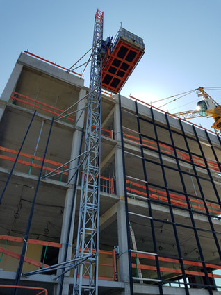 Location montage lift de chantier - RAE