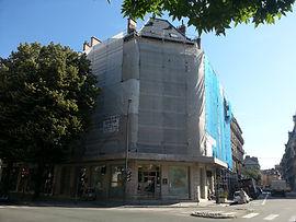 Location échafaudage de façade ITE peinture ravalement bardage