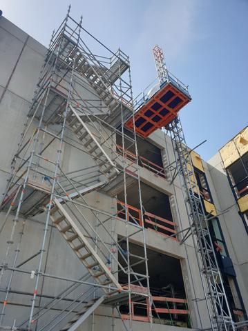 ALIMAK TPM 1800 - Lift de chantier - RAE