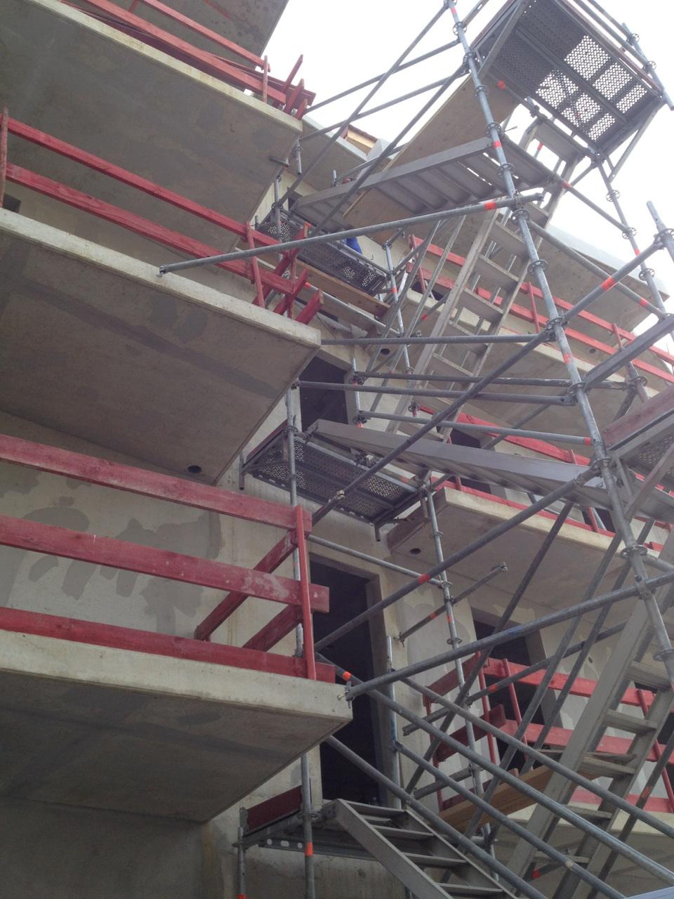 Escalier d'accès à Domène (38)