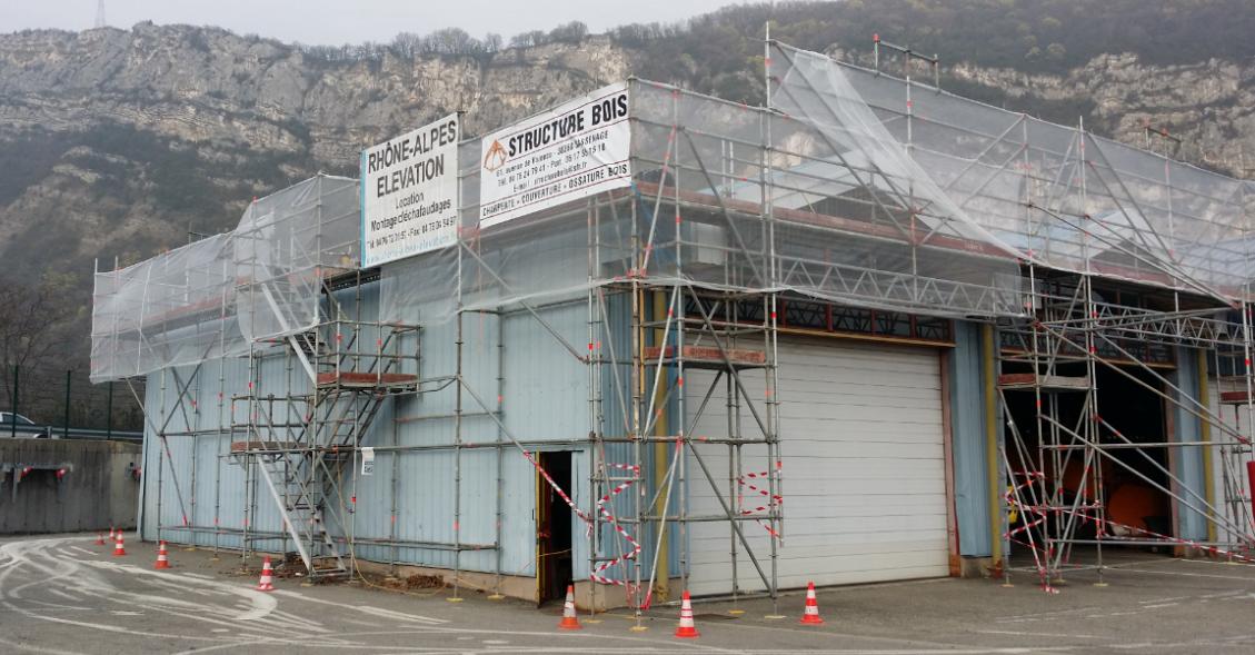 Echafaudage DDE Escalier de chantier.png