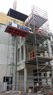Location monte-matériaux et lift de chantier Alimak TPM 1800 RAE LIFT