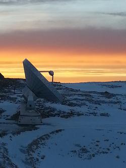 Radiotélescope Pic de Bure - IRAM