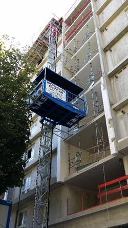 Monte-matériaux |Ascenseurs chantier