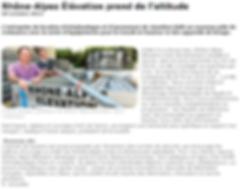 Article Rhône-Alpes Élévation Échafaudages et PIRL