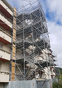Location escalier public escalier de chantier