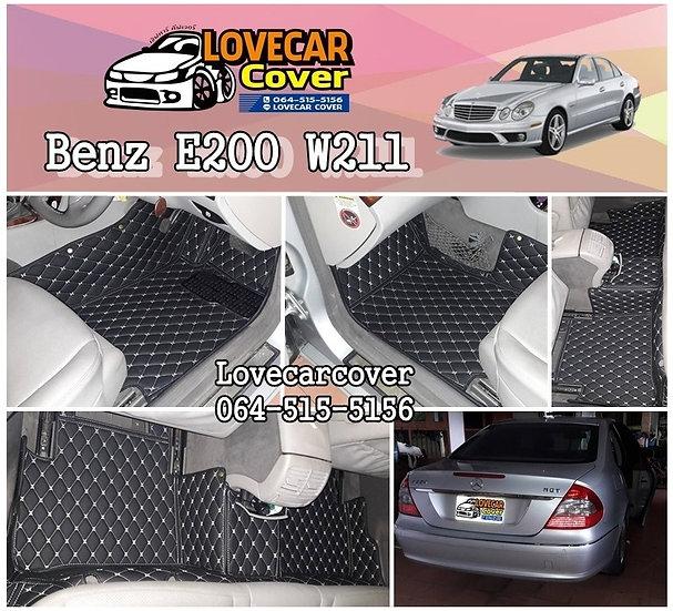 พรมติดรถยนต์ Benz E200 W211