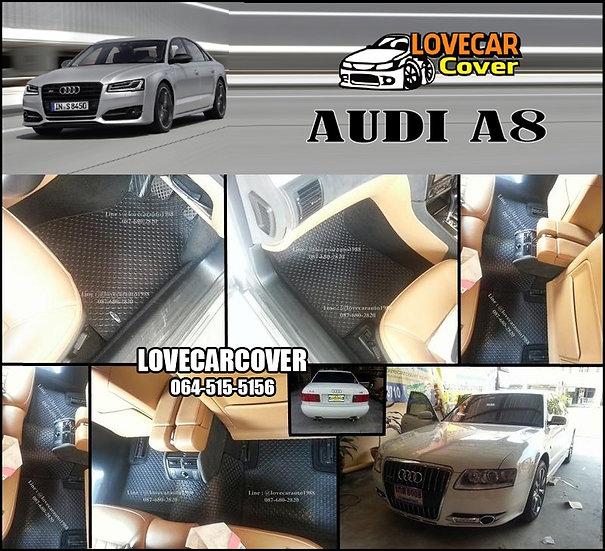 ผ้ายางกระดุมใหญ่ EVA สีดำ AUDI A8