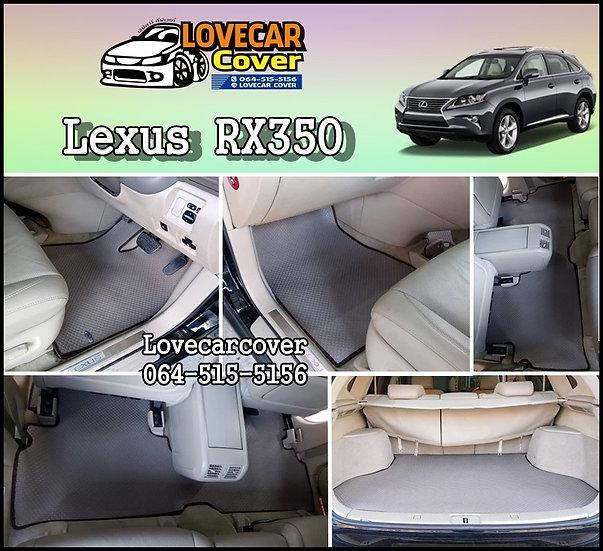 พรมกระดุมเล็ก PVC สีเทา Lexus RX 350
