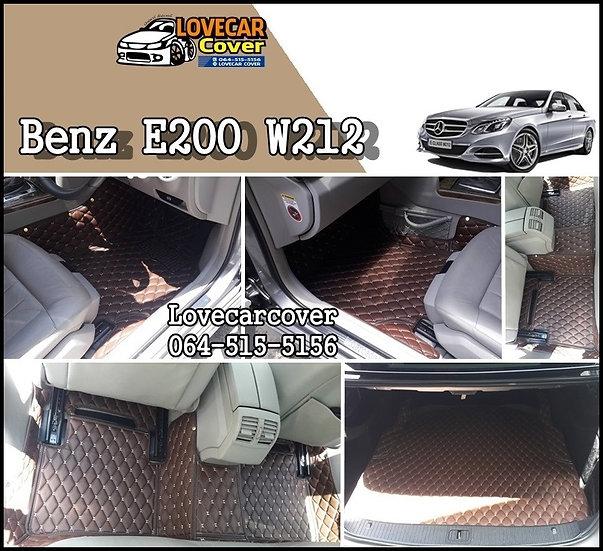 พรมติดรถยนต์ Benz E200 W212