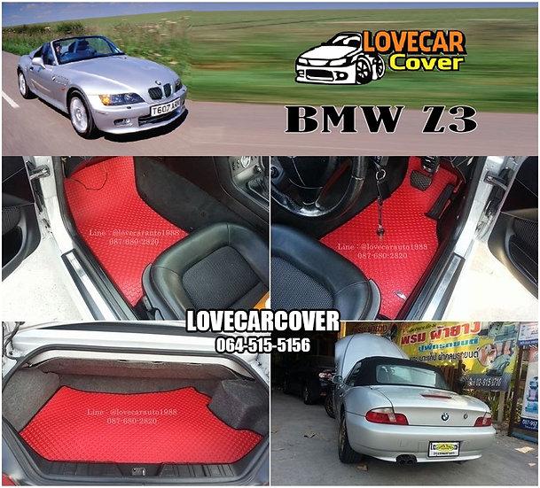 ผ้ายางกระดุมใหญ่ EVA สีแดง BMW Z3