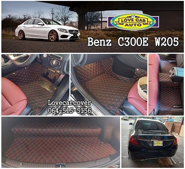 พรมปูพื้นรถยนต์ Benz C300 W205