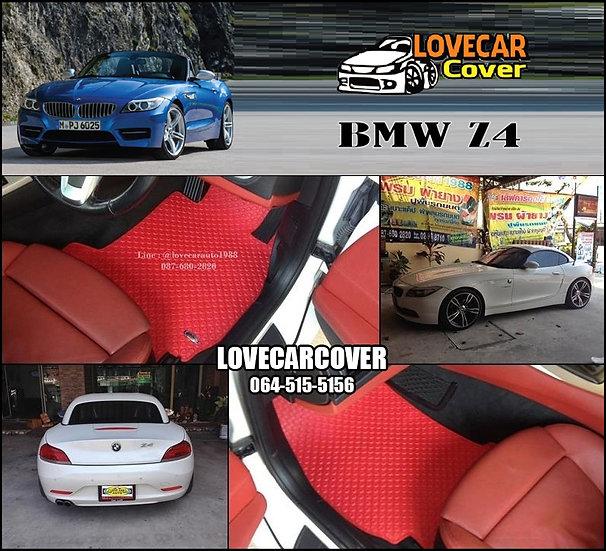 ผ้ายางกระดุมใหญ่ EVA สีแดง BMW Z4