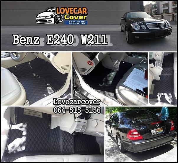 พรมปูพื้นรถยนต์ Benz E240 W211