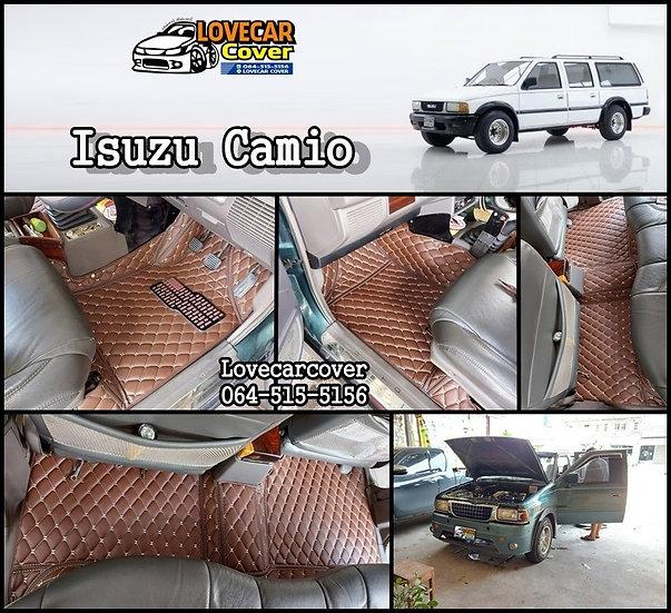 พรมปูพื้นรถยนต์ 6D สีกาแฟ Isuzu Camio