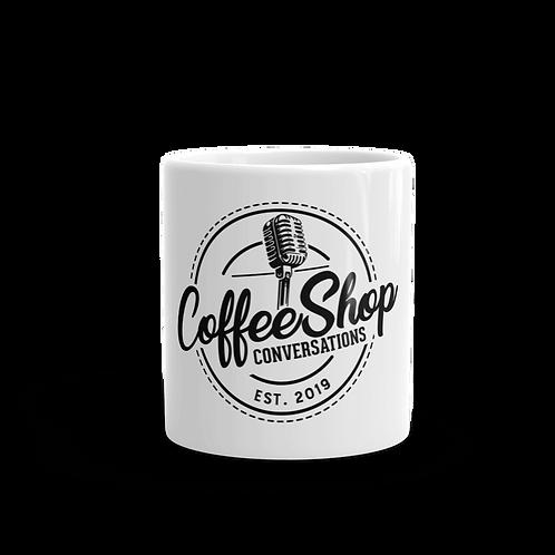 CoffeeShop White Mug
