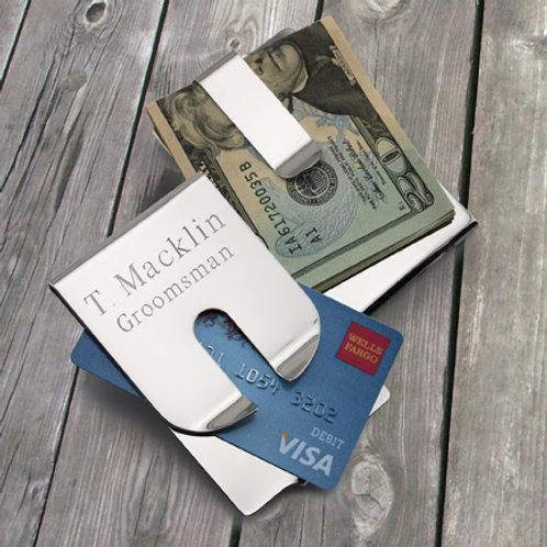 Harrison II Polished Money Clip