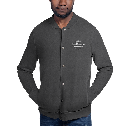 Official Gent Embroidered Bomber Jacket