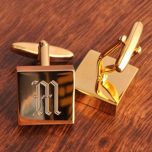 Addison High Polish Brass Cufflinks