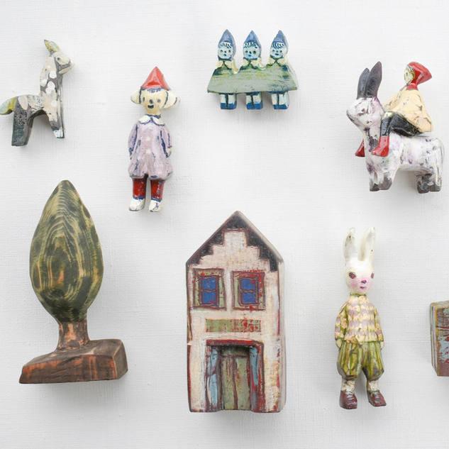 |企画展|小さな木工アートの世界 pa.co.のイロドリミドリ展
